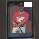 JACQUE JONES - 1997 Bowman Interstate Rookie Card - Minnesota Twins