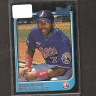 MILTON BRADLEY - 1997 Bowman Rookie Card - Expos & Dodgers