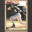 MIKE CAMERON - 1996 Bowman RC - Red Sox, Padres & Marlins