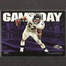 RAY LEWIS - 2011 Topps Gameday - Ravens & Miami Hurricanes