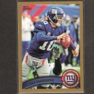 ELI MANNING - 2011 Topps Gold Parallel #/2011 - Giants & Ole Miss