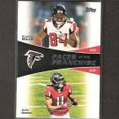JULIO JONES & RODDY WHITE 2011 Topps Faces of the Franchise Rookie - Atlanta Falcons