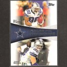 DEZ BRYANT & JASON WITTEN 2011 Topps Faces of the Franchise - Dallas Cowboys