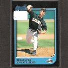 KEITH FOULKE - 1997 Bowman RC - Red Sox & Athletics