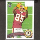 LEONARD HANKERSON 2011 Topps Rookie Card - Redskins & Miami Hurricanes