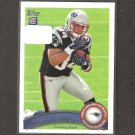 SHANE VEREEN 2011 Topps Rookie Card - Patriots & Cal Golden Bears