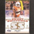 JAMAAL CHARLES 2010 Sweet Spot Sweet Swatches - KC Chiefs & Texas Longhorns
