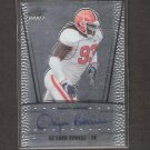 DA'QUAN BOWERS - 2011 Leaf Metal Draft Autograph ROOKIE - Buccaneers & Clemson Tigers
