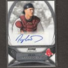 RYAN LAVARNWAY - 2010 Bowman Sterling Autograph ROOKIE - Red Sox