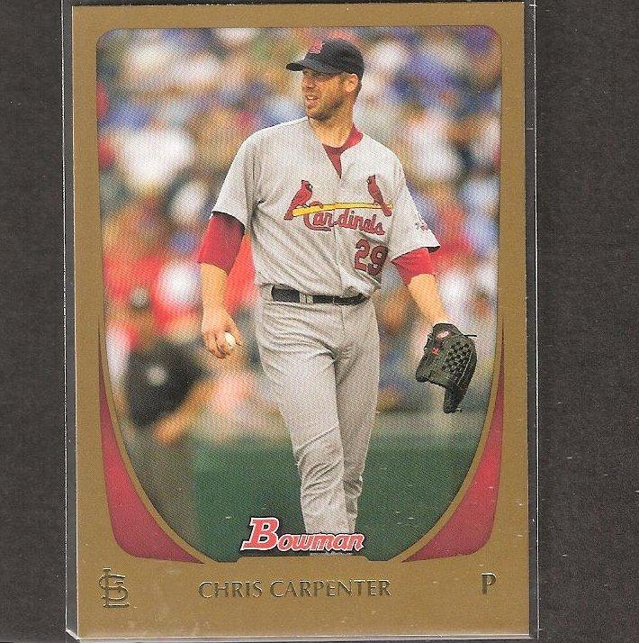 CHRIS CARPENTER - 2011 Bowman Gold - St. Louis Cardinals