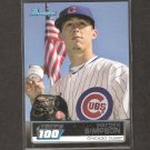 HAYDEN SIMPSON - 2011 Bowman Topps 100 - Chicago Cubs