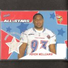 KEVIN WILLIAMS 2005 Bazooka Pro Bowl Game Used Jersey/Relic ROOKIE - Vikings & Oklahoma State