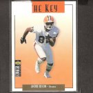 ANDRE RISON - 1995 Collector's Choice The Key - Browns, Falcons & Michigan State Spartans