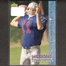 DREW BLEDSOE - 1993 Upper Deck Rookie Card - Patriots, Cowboys & Washington State Cougars