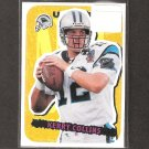 KERRY COLLINS - 1995 Upper Deck Collector's Choice Stick-Um ROOKIE - Panthers & Nittany Lions