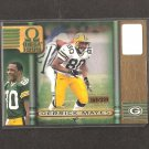 DERRICK MAYES - 1999 Pacific Omega GOLD #169/299 - Packers & Notre Dame Fighting Irish