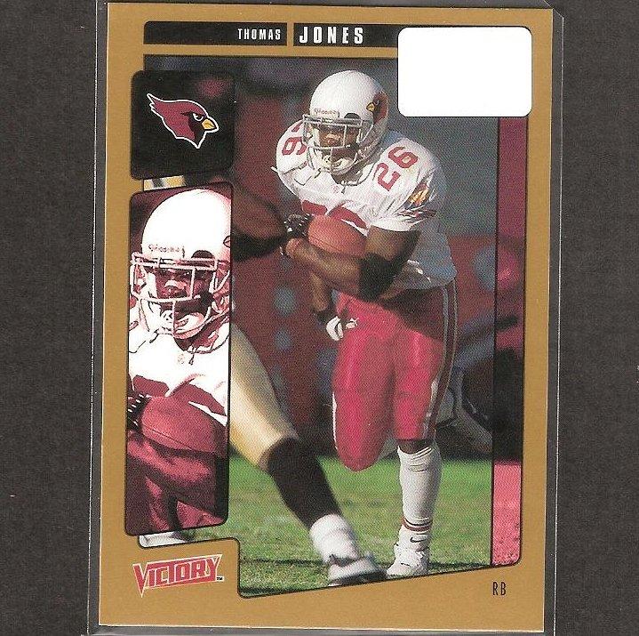THOMAS JONES - 2001 Upper Deck Victory GOLD - Cardinals, Chiefs, Bears & Virginia Cavaliers
