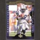MARSHALL FAULK - 1996 Upper Deck A Cut Above Rookie - Colts, Rams & San Diego State Aztecs