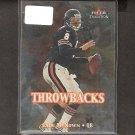 CADE McNOWN - 2000 Fleer Tradition Throwbacks Rookie - Bears & UCLA Bruins