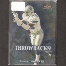 EMMITT SMITH - 2000 Fleer Tradition Throwbacks - Dallas Cowboys & Florida Gators