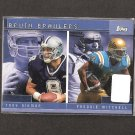 TROY AIKMAN & FREDDIE MITCHELL - 2001 Topps UCLA Bruins All Stars - Rams