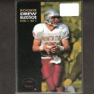 DREW BLEDSOE - 1993 Skybox Premium Rookie Card - Patriots, Cowboys & Washington State Cougars