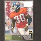 TERRELL DAVIS - 1995 Collector's Choice Update Rookie Card - Broncos & Georgia Bulldogs
