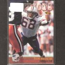 TEDY BRUSCHI - 1996 Classic RC - Patriots & Arizona Wildcats