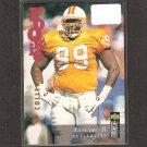 WARREN SAPP - 1995 Collector's Choice Update Rookie Card - Buccaneers, Raiders & Miami Hurricanes