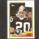DWIGHT STONE - 1988 Topps ROOKIE Card- Steelers & Middle Tennessee State