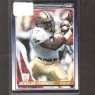 RENALDO TURNBULL - 1990 Score Traded ROOKIE Card- New Orleans Saints & West VIrginia Mountaineers