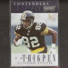 YANCEY THIGPEN - 1996 Playoff Contencers ROOKIE Card- Steelers & Winston-Salem State