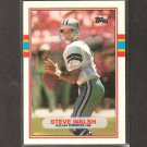 STEVE WALSH - 1989 Topps Traded ROOKIE Card - Cowboys & Miami Hurricanes