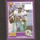 STEVE WALSH - 1989 Score Supplemental ROOKIE Card - Cowboys & Miami Hurricanes
