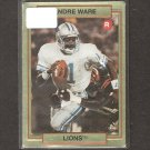 ANDRE WARE - 1990 Action Packed Rookies RC - Detroit Lions & Houston Cougars