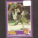 KEENA TURNER - 1989 Score Supplemental ROOKIE Card - 49ers & Purdue Boilermakers