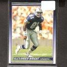 ALEXANDER WRIGHT - 1990 Score Traded ROOKIE Card - Dallas Cowboys & Auburn Tigers