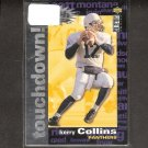 KERRY COLLINS 1995 Collector's Choice Crash the Game Silver Touchdown RC - Giants & Nittany Lions