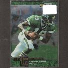 KEYSHAWN JOHNSON 1997 Collector's Choice Turf Champions - NY Jets & USC Trojans