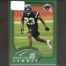 QUENTIN JAMMER 2002 Topps ROOKIE - Chargers & Texas Longhorns