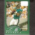 DAVID GARRARD 2002 Topps ROOKIE - Jaguars, Steelers & East Carolina Pirates