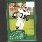 WILLIAM GREEN 2002 Topps ROOKIE - Cleveland Browns & Boston College Eagles