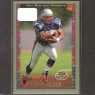 KEVIN FAULK 1999 Topps Short Print ROOKIE - New England Patriots & LSU Tigers