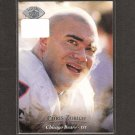 CHRIS ZORICH 1995 Upper Deck Electric - Chicago Bears & Notre Dame Fighting Irish