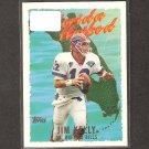 JIM KELLY 1995 Topps Florida Hotbed - Buffalo Bills & Miami Hurricanes