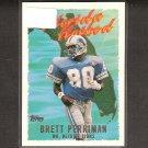 BRETT PERRIMAN 1995 Topps Florida Hotbed - Detroit Lions, Saints & Miami Hurricanes