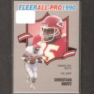 CHRISTIAN OKOYE 1990 Fleer All-Pro - Kansas City Chiefs & Pacific University