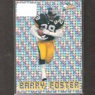 BARRY FOSTER 1993 Pacific Prism Circular Pattern - Steelers & Arkansas Razorbacks