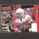 TERRY GLENN 1996 Collector's Choice Rookie Card RC - Dallas Cowboys, Patriots & Ohio State Buckeyes