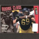 JON RUNYAN 1996 Collector's Choice Rookie Card RC - Oilers, Eagles & Chargers & Michigan Wolverines